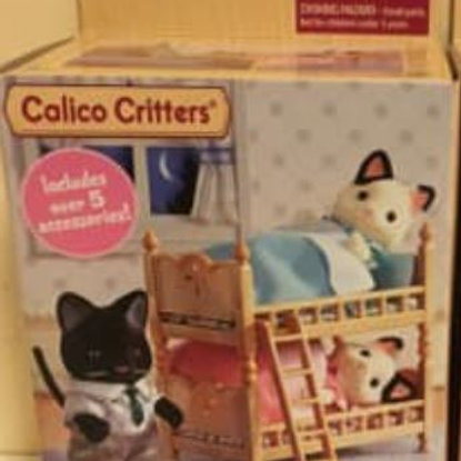 Calico Critters Stack & Play Beds