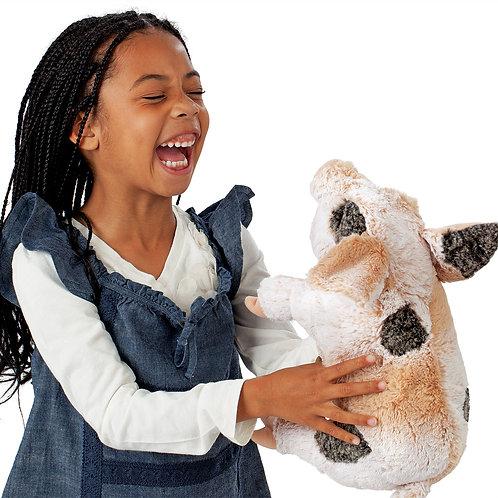 Folkmanis Grunting Pig Puppet.