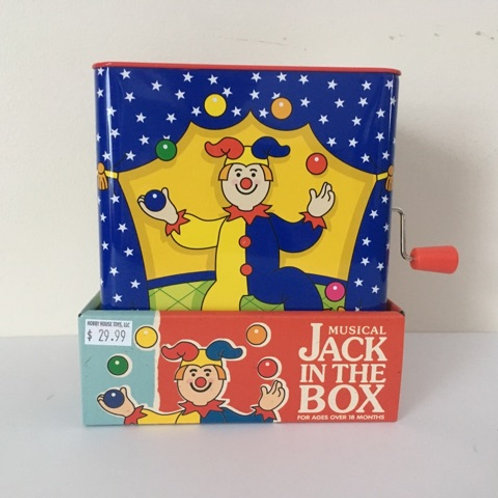 Schylling Musical Jack in the Box