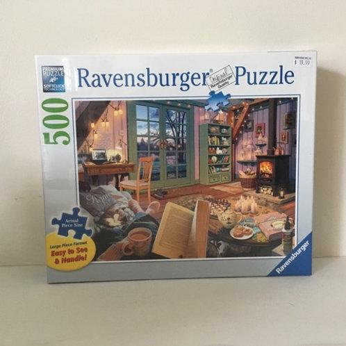 Ravensburger Large Format Cozy Retreat Puzzle