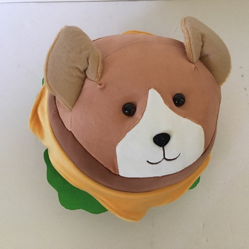 Douglas Corgi Burger Macaroon PLush