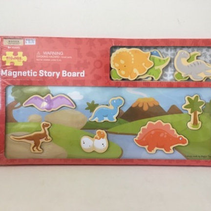 BigJigs Magnetic Story Board - Dinosaurs