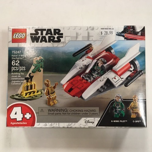 Lego Star Wars Rebel A Wing Starfighter #75247