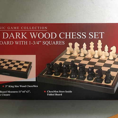 """Classic Game Collection 15"""" Board with 1-3&4"""" Squares"""