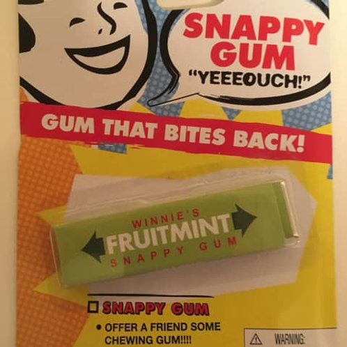 Schylling Snappy Gum / Gum that bites back!