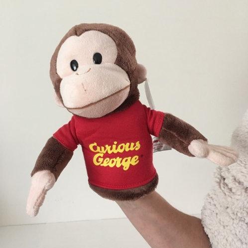 Gund Curious George Puppet