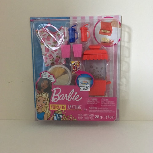 Barbie Popcorn Set