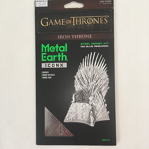 Metal Earth Game of Thrones Iron Throne