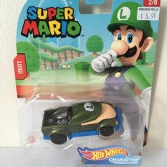Hot Wheels Super Mario - Luigi Vehicle