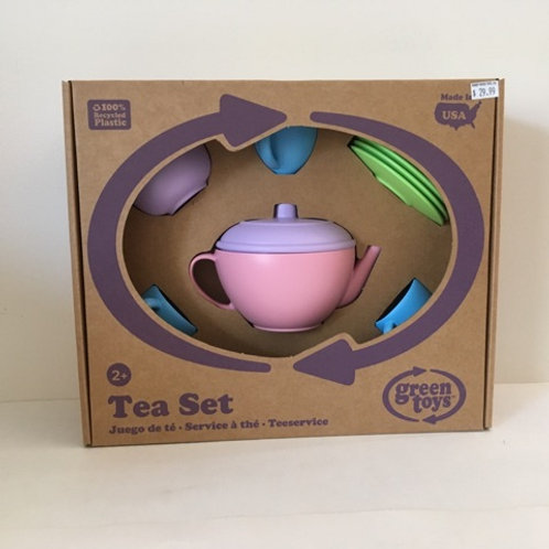Green Toy Tea Set