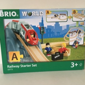 Brio World Railway Starter Set #33773