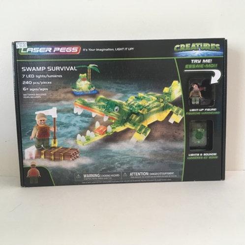 Laser Pegs - Swamp Survival