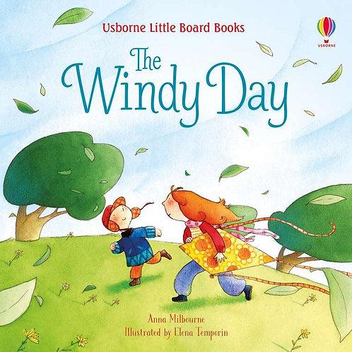 Usborne Little Board Books: The Windy Day