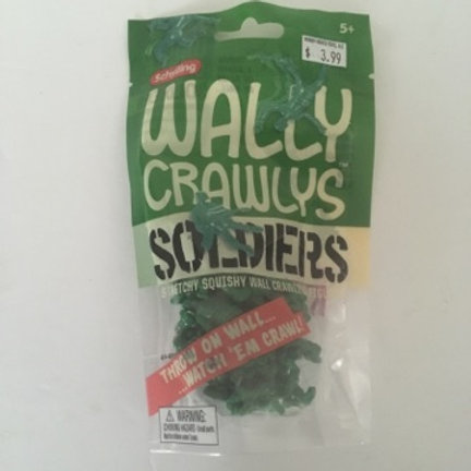 Schylling Wally Crawlys Soldiers