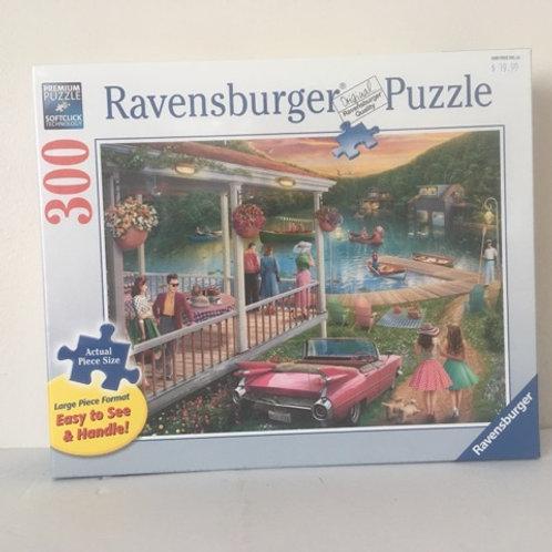 Ravensburger Summer at the Lake Puzzle