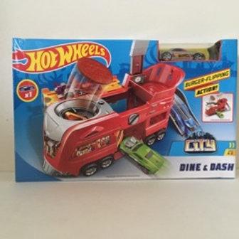 Hot Wheels Burger Flipping Set