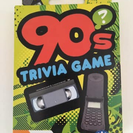90's Trivia Game