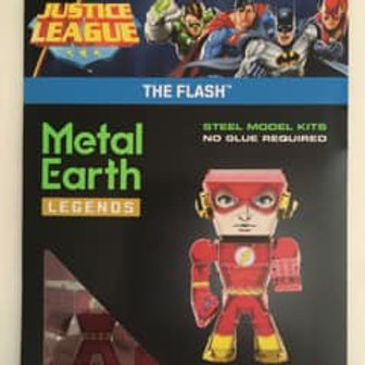 Metal Earth Justice League The Flash