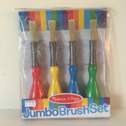 Melissa & Doug Jumbo Brush Set