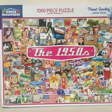 White Mountain 1000 pc Puzzle, The 1950s