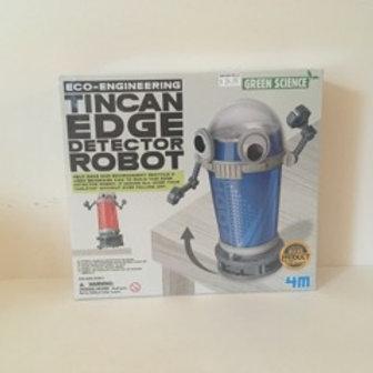 Tin Can Edge Detector Robot