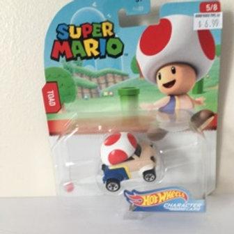 Hot Wheels Super Mario - Toad Vehicle