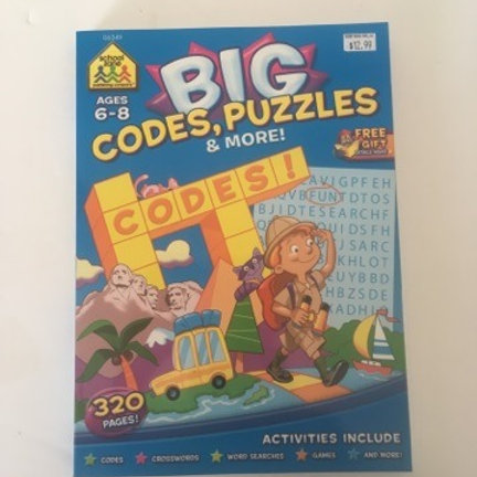 School Zone Big Codes, Puzzles & More