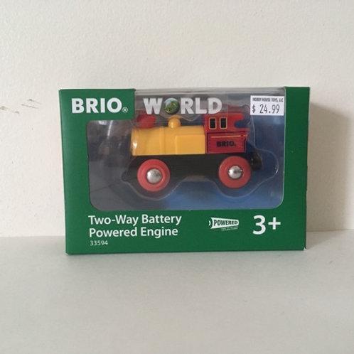 Brio World Two Way Battery Powered Engine #33594