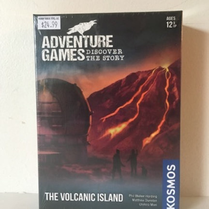 Adventure Games - Discover the Story - The Volcanic Island