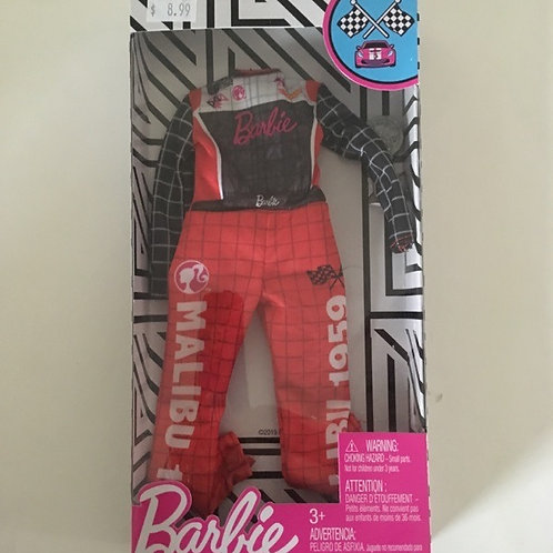 Barbie Racing Outfit