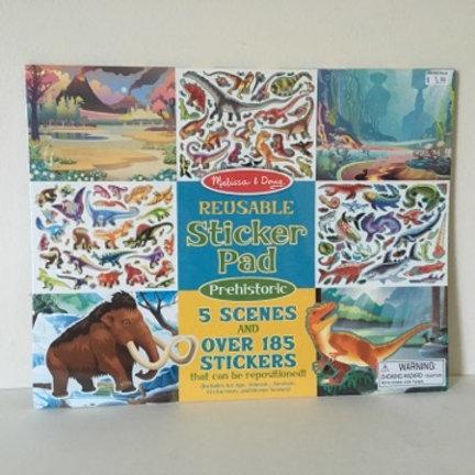 Melissa & Doug Reusable Sticker Pad - Prehistoric
