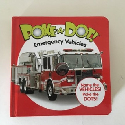 Poke A Dot Emergency Vehicles Book
