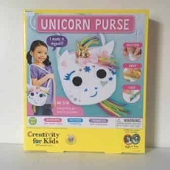 Creativity for Kids Unicorn Purse Set