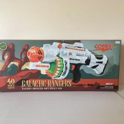 Galactic Rangers Battery Operated Soft Bullet Gun