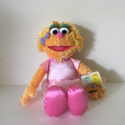 Sesame Street Plush Zoey