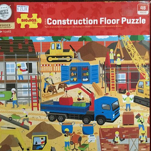 Bigjigs Construction Florr Puzzle