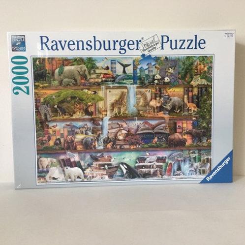 Ravensburger Wild Kingdom Shelves Puzzle
