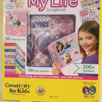 Creativity for Kids, It's My Life Scrapbook