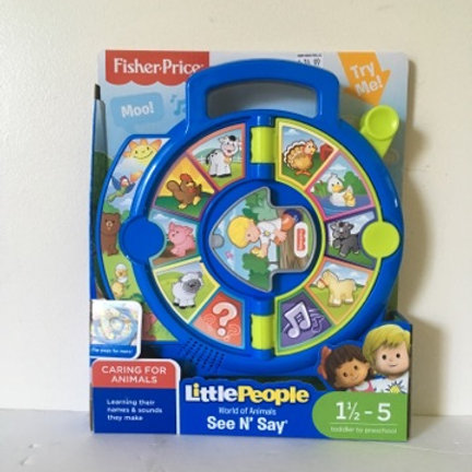 Fisher Price Little People World of Animals See N Say