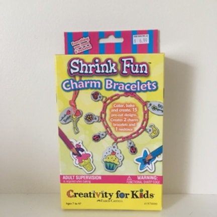 Creativity For Kids Shrink Fun Charm Bracelets