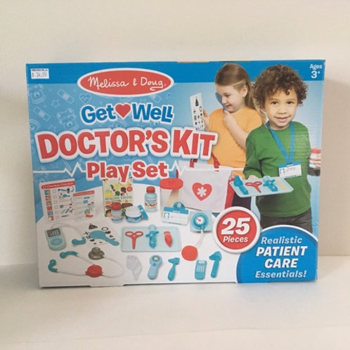 Melissa & Doug Get Well Doctor's Kit Play Set