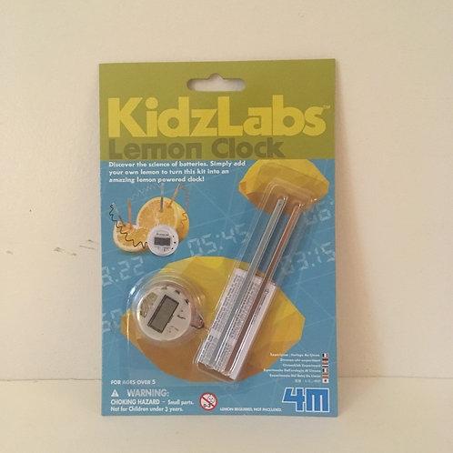 KidzLabs Lemon Clock
