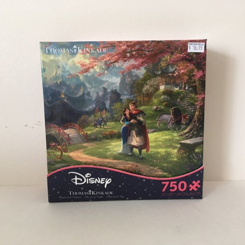 Ceaco Thomas Kinkade Disney Puzzle - Mulan