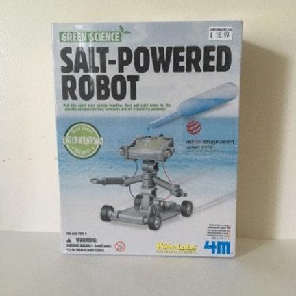 Green Science Salt Powered Robot