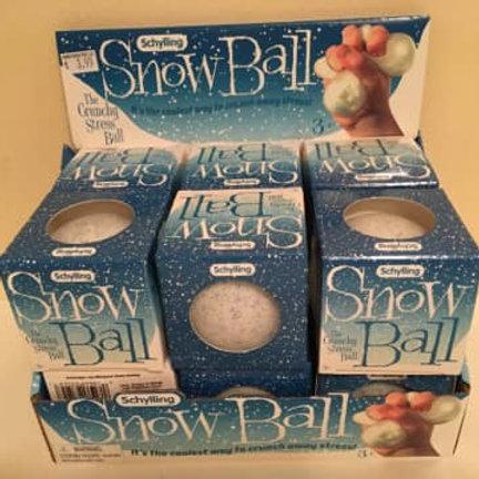 Schylling Snow Ball, Crunchy Stress Ball