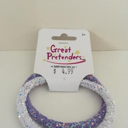 Great Pretenders, Bracelets, set of 2, silver and purple