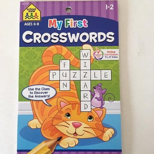 School Zone My First Crosswords