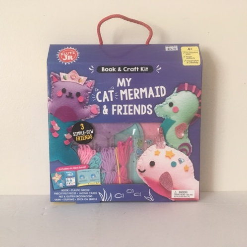 Klutz Book & Craft Kit - My Cat Mermaid & Friends