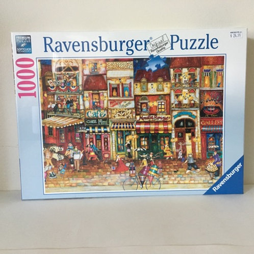 Ravensburger Streets of France Puzzle