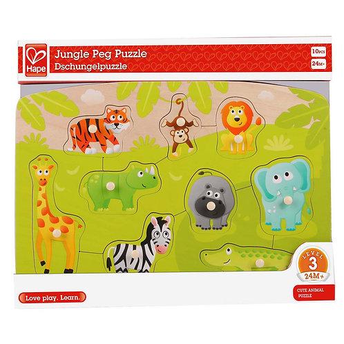 Hape Jungle Peg Puzzle